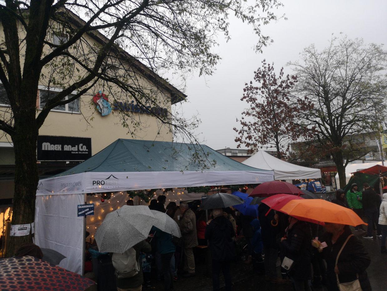 Weihnachtsmarkt 2018 Regen